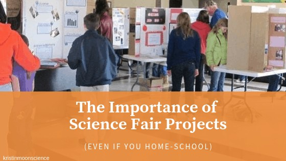 The importance of science fair projects, even if you homeschool