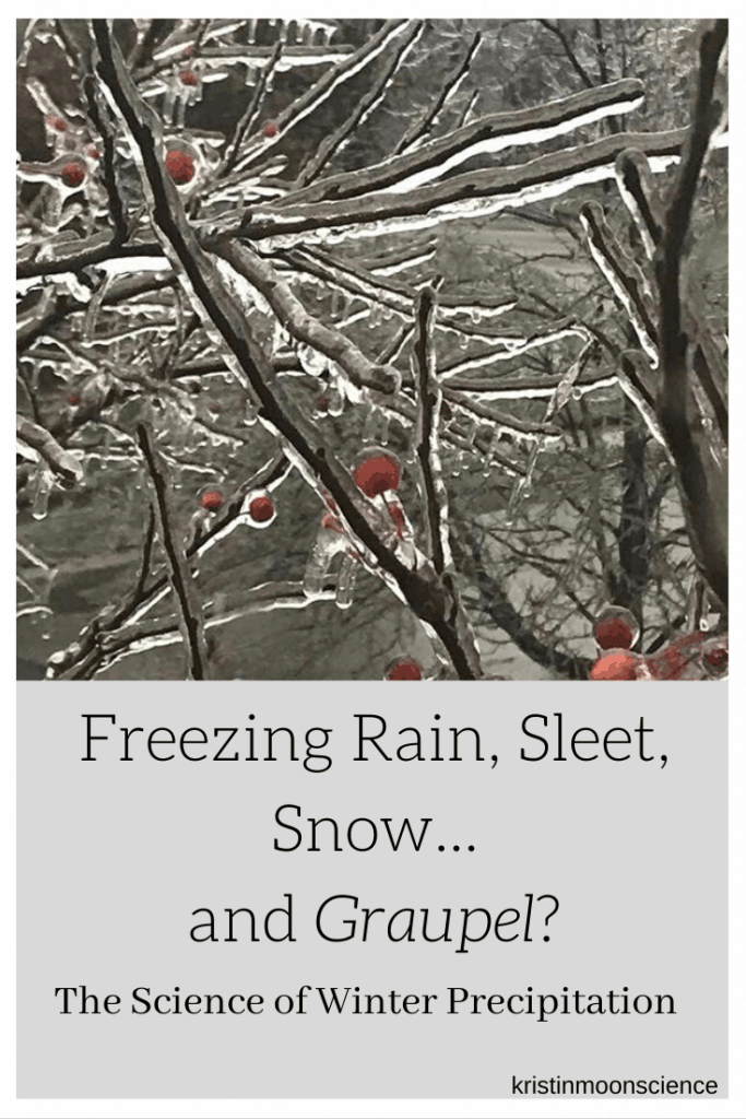Do you know what causes the different types of winter precipitation (snow, sleet, and freezing rain)? What about graupel? Learn the science behind the different forms of winter precipitation.