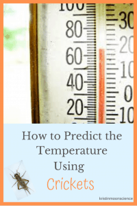 Did you know that people have been using crickets to accurately predict the temperature since the 19th Century? Learn all about crickets, why and how they chirp, Dolbear's Law, and how to use crickets to predict the temperature where you live.