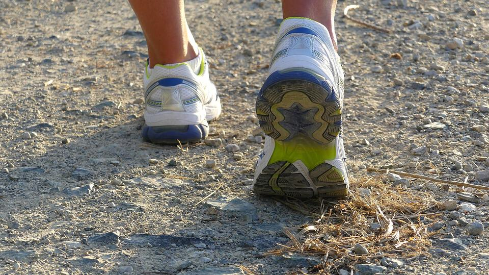 Because walking is easy to do, people tend to stick with it more than other forms of exercise.