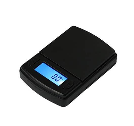 A digital pocket scale is an excellent tool for your home science kit.  Your students will be able to investigate whatever topic sparks their natural curiosity.