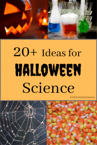 Candy science, dry ice science, pumpkin science, spooky science