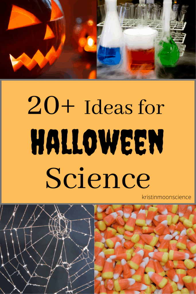 Why not take advantage of the Halloween season and explore some Halloween Science!  Includes ideas for Candy Science, Dry Ice Science,  Pumpkin Science, and Spooky Science.  Perfect for all ages (even high school!)