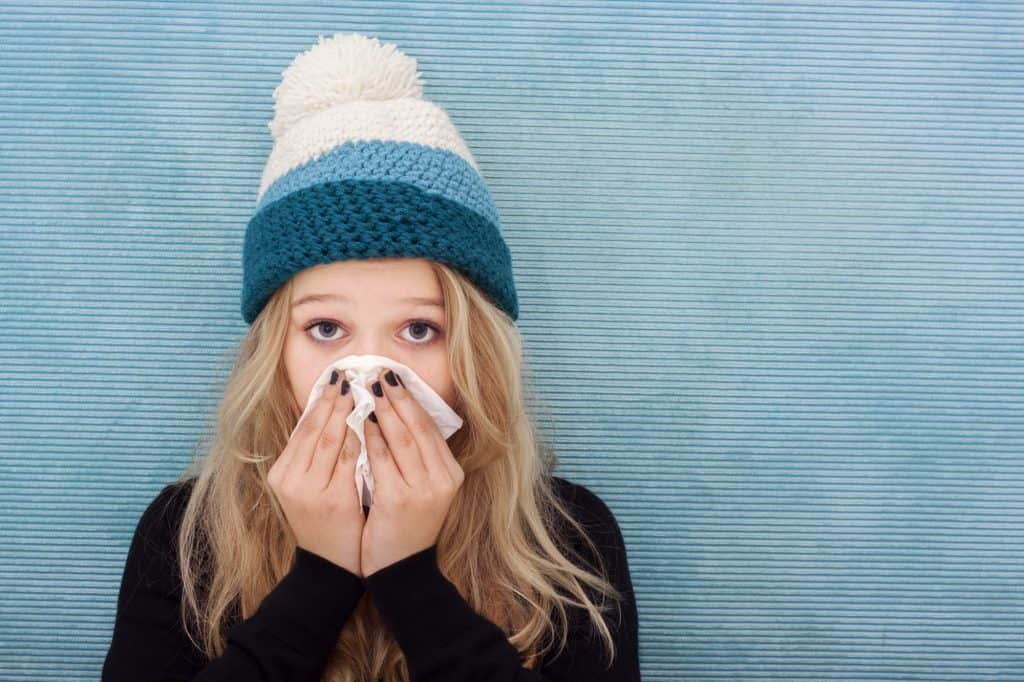 Why do we get sick more often during the winter?