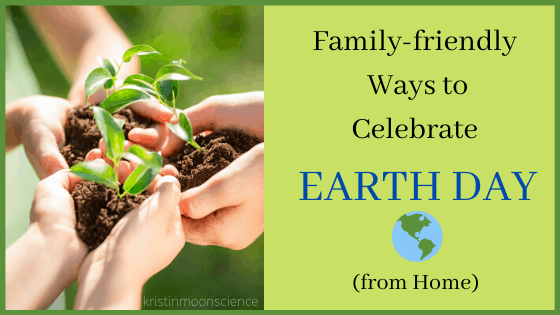 Family celebrating Earth Day