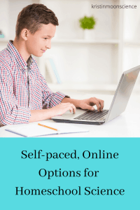Self paced online science courses