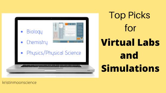 Top picks for virtual labs and simulations in biology, chemistry, and physics/physical science
